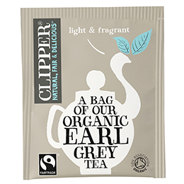 Clipper Enveloped - 25 - F/T Organic Earl Grey - 6x25