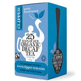 Clipper Enveloped - 25 - F/T Organic Decaff Everyday - 6x25 Es&T