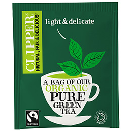 Clipper Enveloped - 250's - F/T Organic Pure Green Tea - 1x250