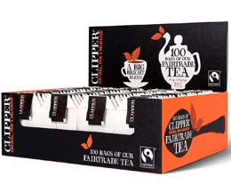 Clipper S&T - Fairtrade Everyday Black Tea - 6x100