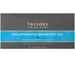 Taylors Tea - Decaffeinated Breakfast (Bags) - 1x100