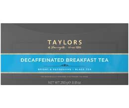 Taylors Tea - Decaffeinated Breakfast (Bags) - 1x100