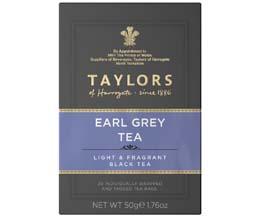 Taylors Tea - Earl Grey (Bags) - 6x20