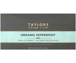 Taylors Tea - Organic Peppermint - 1x100