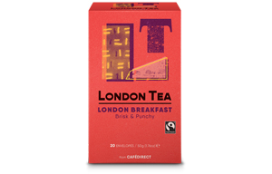 London Tea Enveloped - 20's - London Breakfast - 6x20