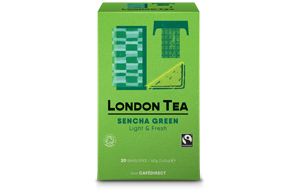 London Tea Enveloped - 20's - Sencha Green Tea - 6x20