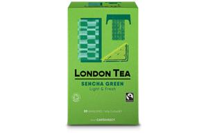 London Tea Company - Sencha Green Tea - E,S&T - 6x20