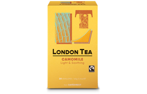 London Tea Enveloped - 20's - Pure Chamomile - 6x20