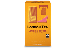 London Tea Company - Zingy Lemon & Ginger - E,S&T - 6x20