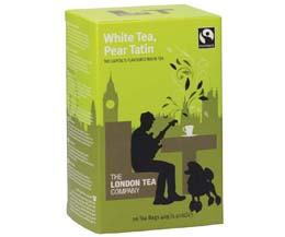 London Tea Enveloped - 20's - White Tea & Pear Tatin - 6x20
