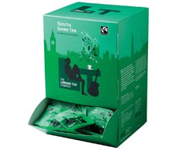 London Tea Enveloped - 250's - Sencha Green Tea - 4x250