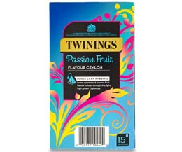 Twinings Enveloped - 216 Pyramid - Passion Fruit Ceylon - 4x15