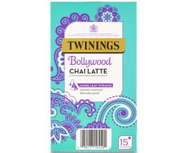 Twinings Enveloped - 216 Pyramid - Chai Latte - 4x15