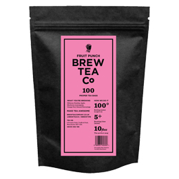 Brew Tea S&T - Fruit Punch - 1x100 Black Bag