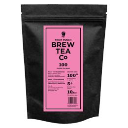 Brew Tea Bags - Fruit Punch - 1x100 Black Bag