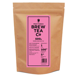 Brew Tea Loose Leaf - Fruit Punch - 1x500g