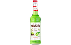 Monin - Glass - Green Apple Syrup - 1x700ml
