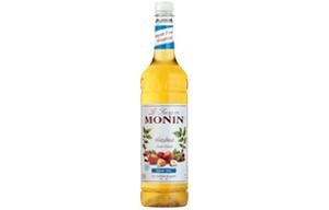 Monin - Plastic - Sugar Free Hazelnut Syrup - 1x1L