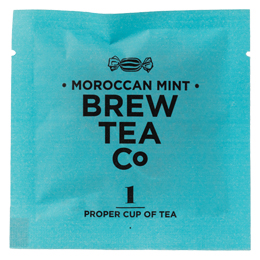 Brew Tea - Env Tea Bags - Moroccan Mint - 1x100 Box