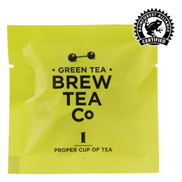 Brew Tea Enveloped - Green Tea - 1x100 Box