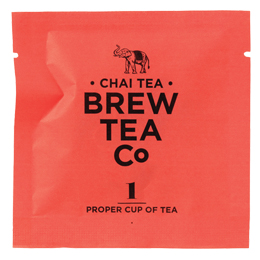 Brew Tea - Env Tea Bags - Chai Tea - 1x100 Box
