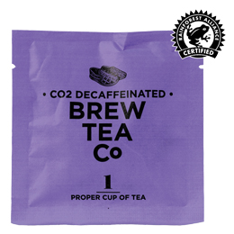 Brew Tea Enveloped - Co2 Decaffeinated Tea - 1x100 Box