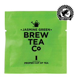 Brew Tea Enveloped - Jasmine Green Tea - 1x100 Box