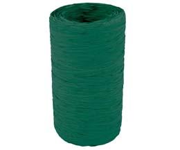 Raffia Roll - Green - 5Mm x 200M - Raf/Fg