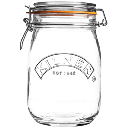 Kilner Jar - Round Clip Top - 1x1.5L